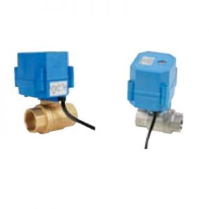 Robineti sfera compacti cu actionare electrica PN10